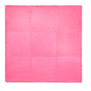 Tadpoles 21 Piece Plush Playmat Set; Bright Pink