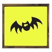Forest Creations Bat Halloween Framed Graphic Art