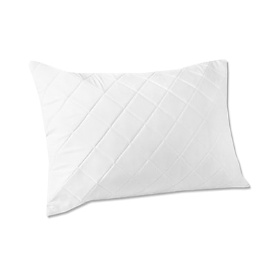 Fresh Ideas Quilted Memory Foam Pillow Protector