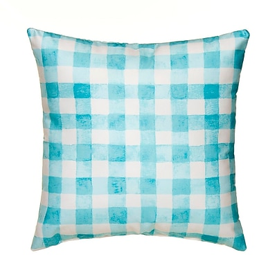 Glenna Jean Willow Plaid Throw Pillow