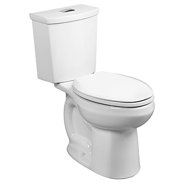 American Standard H2Option Dual Flush Round Two-Piece Toilet