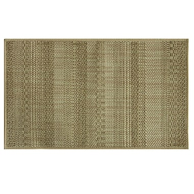 Bacova Guild Natural Brown Area Rug; 1'8'' x 2'9''