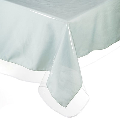 Casamode Functional Furniture Plastic Tablecloth; 60'' W X 84'' L