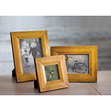 Kindwer Recycled Ruler Picture Frame