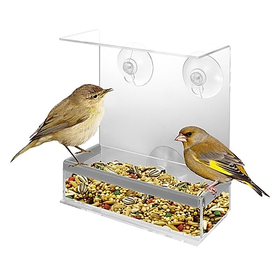 Kovot Acrylic Decorative Tray Bird Feeder WYF078279864925