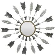 Three Hands Co. Arrows Circular Metal Wall Mirror