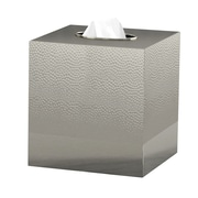 NU Steel Classic Boutique Tissue Box Cover
