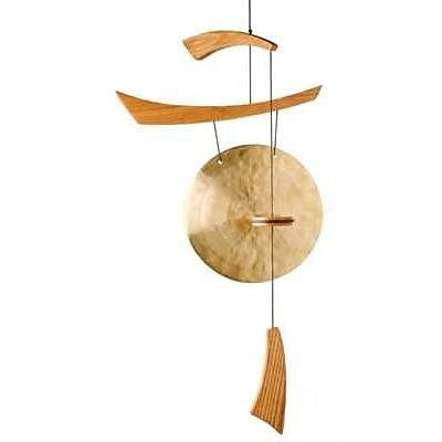 Oriental Furniture Emperor Gong Wind Chime