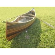 Old Modern Handicrafts Canoe Statue