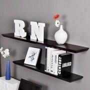 Welland Industries LLC Oliver Floating Shelf; Black