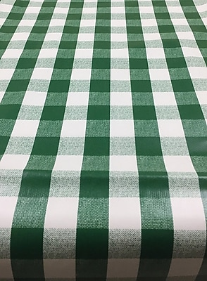 Ottomanson Essential Checkered Design Indoor/Outdoor Tablecloth; 70'' W x 55'' L