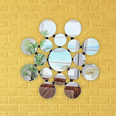 Artistic Products Breeze Point Wall Mirror; 28''