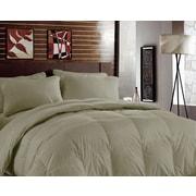 BHPNY Bamboo Heavyweight Down Alternative Comforter; Sand