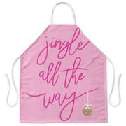 Kavka Jingle Apron; Pink