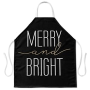 Kavka Merry and Bright Apron; Black
