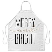 Kavka Merry and Bright Apron; White