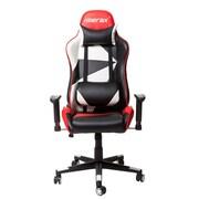 Merax Racing High-Back Executive Chair w/ Adjustable Swivel; Red