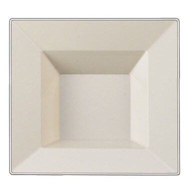 Table to go Square Pearl 'I Can't Believe It's Plastic' Bowl (Set of 50)