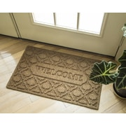 Entryways Weather Beaters Welcome Florence Polypropylene Mat