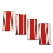 Didi's Kitchen Vintage Dishcloth (Set of 4); Red