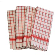 Didi's Kitchen Terry Dishcloth (Set of 4); Red