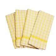Didi's Kitchen Terry Dishcloth (Set of 4); Yellow