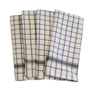 Didi's Kitchen Terry Dishcloth (Set of 4); Gray