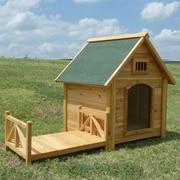 CreativeCedarDesigns K-9 Kastle Dog House