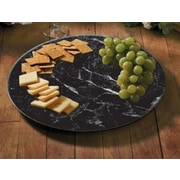 CounterArt Susan Glass Lazy Marble Serving Platter