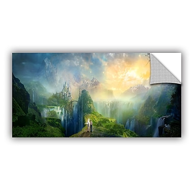 ArtWall Road To Oalovah by Philip Straub Removable Graphic Art; 24'' H x 48'' W