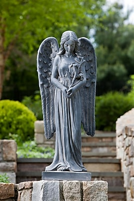Alfresco Home Standing Angel Statue