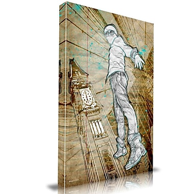 Maxwell Dickson Time Traveler Graphic Art on Wrapped Canvas; 30'' H x 20'' W
