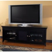 Woodhaven Hill Veneto Series TV Stand; Black