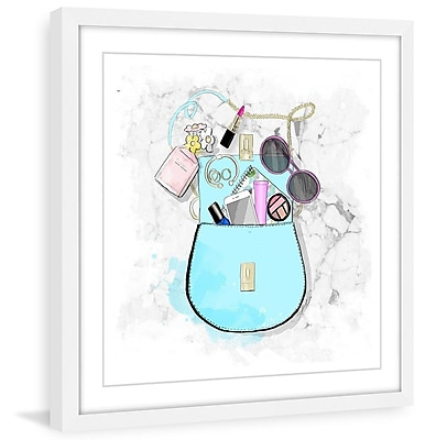 Marmont Hill 'Sofies Bag' by Alison Petrie Framed Painting Print; 48'' H x 48'' W x 1.5'' D