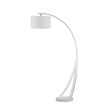 Nova of California Swan 74.75'' Arched Floor Lamp