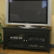 Wildon Home   Veneto TV Stand; Black