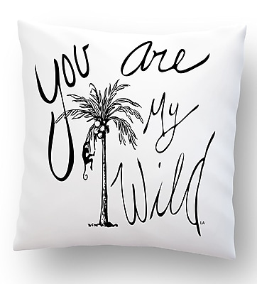 Collier Sun You Are My Wild Throw Pillow