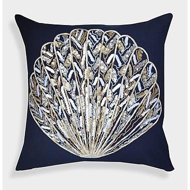 A1 Home Collections LLC Organza Sequin Shell Decorative Cotton Throw Pillow