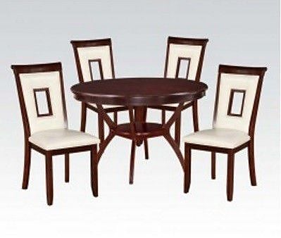 A&J Homes Studio Syndra 5 Piece Dining Set