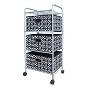 Bintopia 3 Drawer Trolley Cart