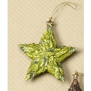 Dekorasyon Holiday Leafy Star Ornament (Set of 2)