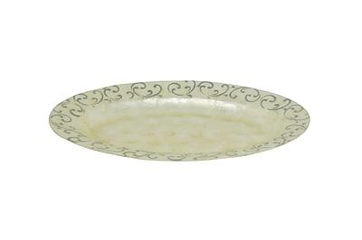 Dekorasyon Scroll Oval Platter