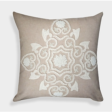 A1 Home Collections LLC Organza Handcrafted Decorative Linen Throw Pillow