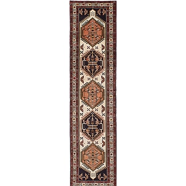 Bloomsbury Market Lin Hand-Knotted Beige/Brown Area Rug
