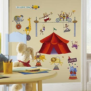 Wallhogs Big Top Circus Wall Decal