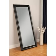 Darby Home Co Rectangle Full Length Leaning Mirror; Black