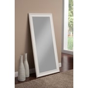 Darby Home Co Rectangle Full Length Leaning Mirror; Frost White