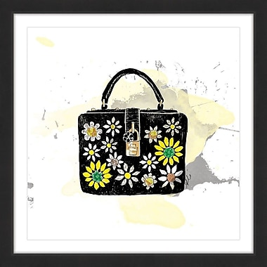 Marmont Hill 'Bloom Bag' by Alison Petrie Framed Painting Print; 48'' H x 48'' W x 1.5'' D