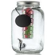Tablecraft 2 Gallon Mason Jar Beverage Dispenser by