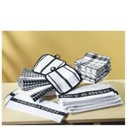 R&R Textile Mills Inc 17 Piece Towel Set; Black